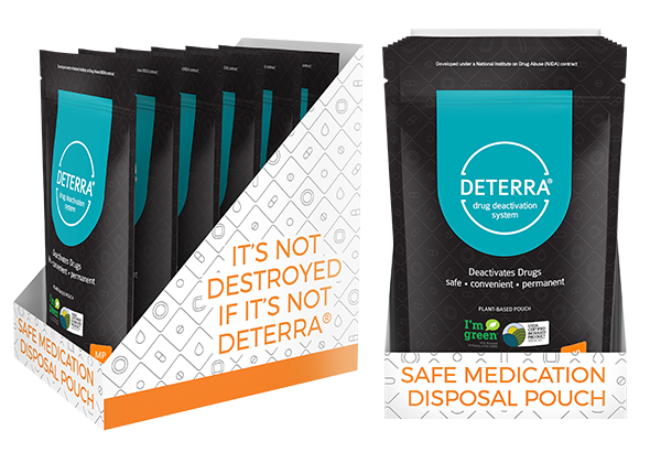 Deterra Cube Retail Replacement – MP
