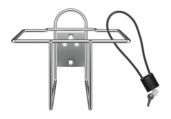 Deterra 1.0 Wall Mount and Lock Kit