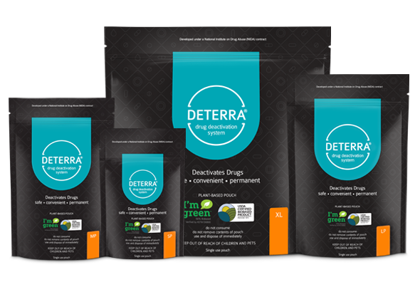 Deterra Pouch Products