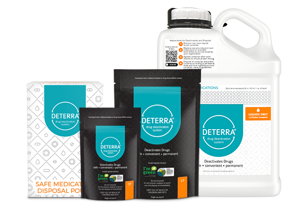 Variety of Deterra Products