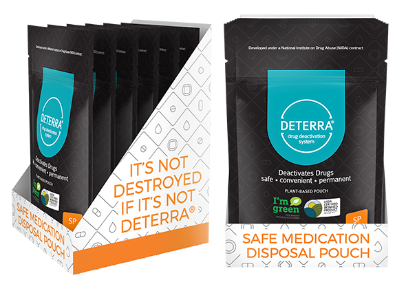 Deterra Cube Retail Replacement – SP