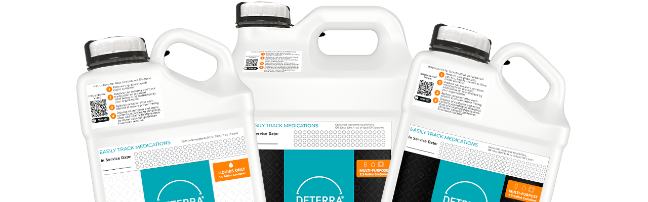 Deterra Containers Product