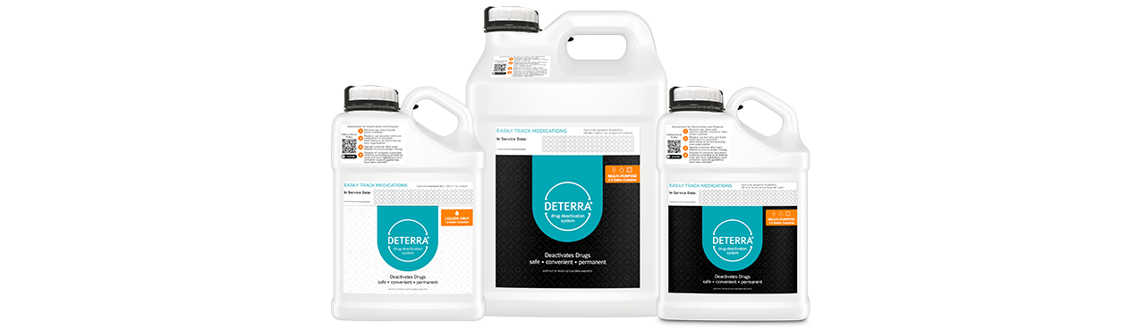 Deterra Family of Container Products