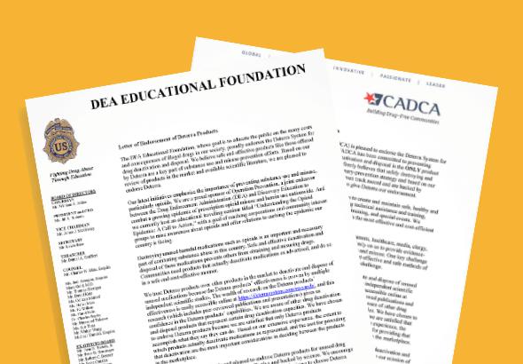 CADCA and DEA Educational Foundation Endorsement Letters