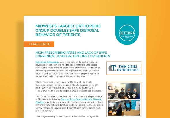 Twin Cities Orthopedics Case Study