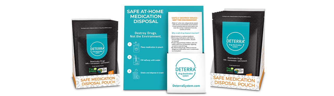 Deterra Retail Kit Products