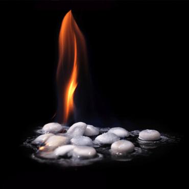 pills on fire