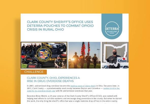 Clark County Sheriff's Office Deterra Case Study