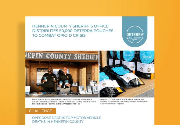 Hennepin County Sheriff's Office Deterra Case Study